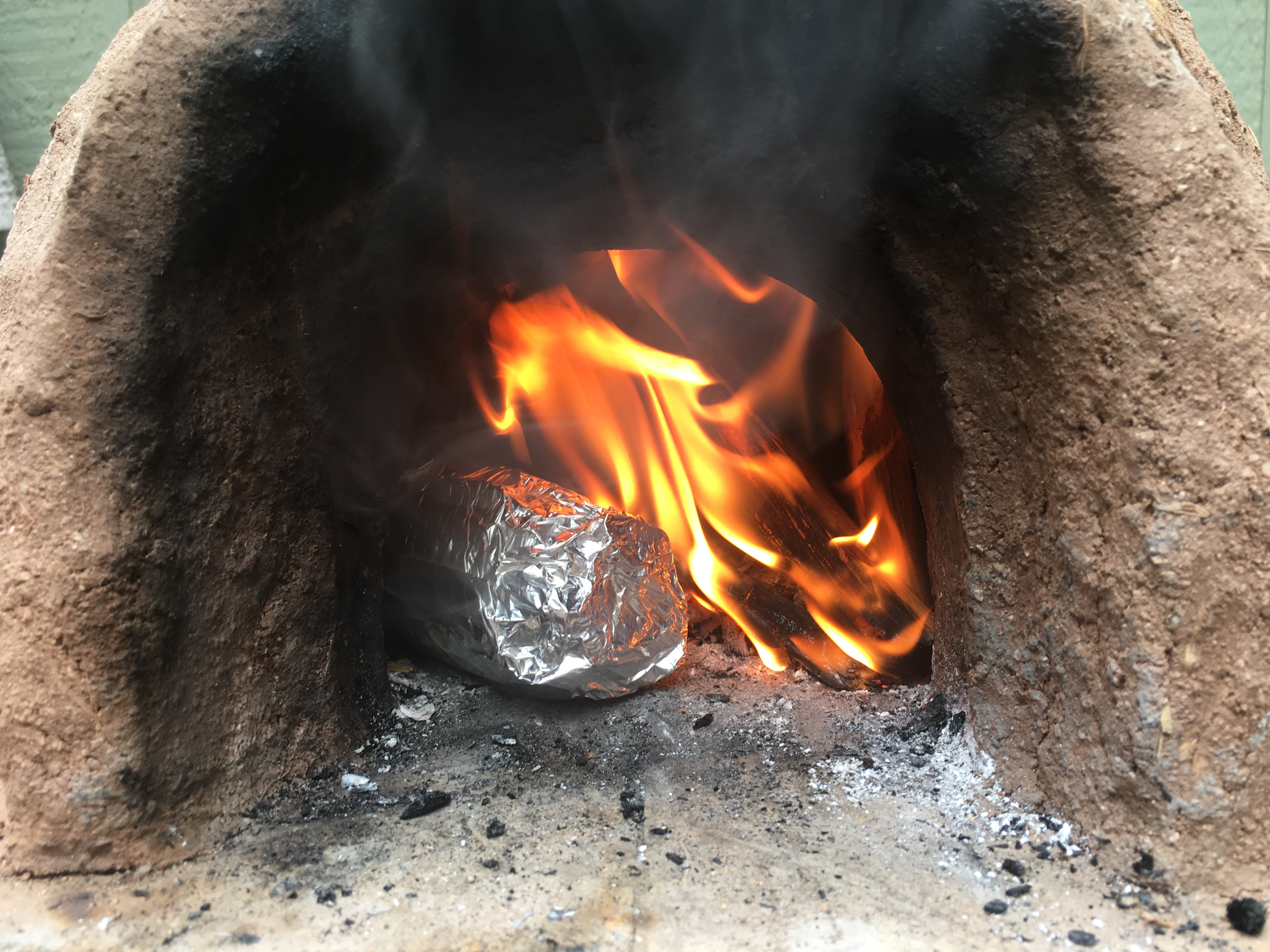 Picture of FIRE-ROASTED CLAY-OVEN CORN ON THE COB!  FANTASTIC!!