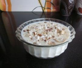 Making Delicious 'Kheer' (an Indian Desert)