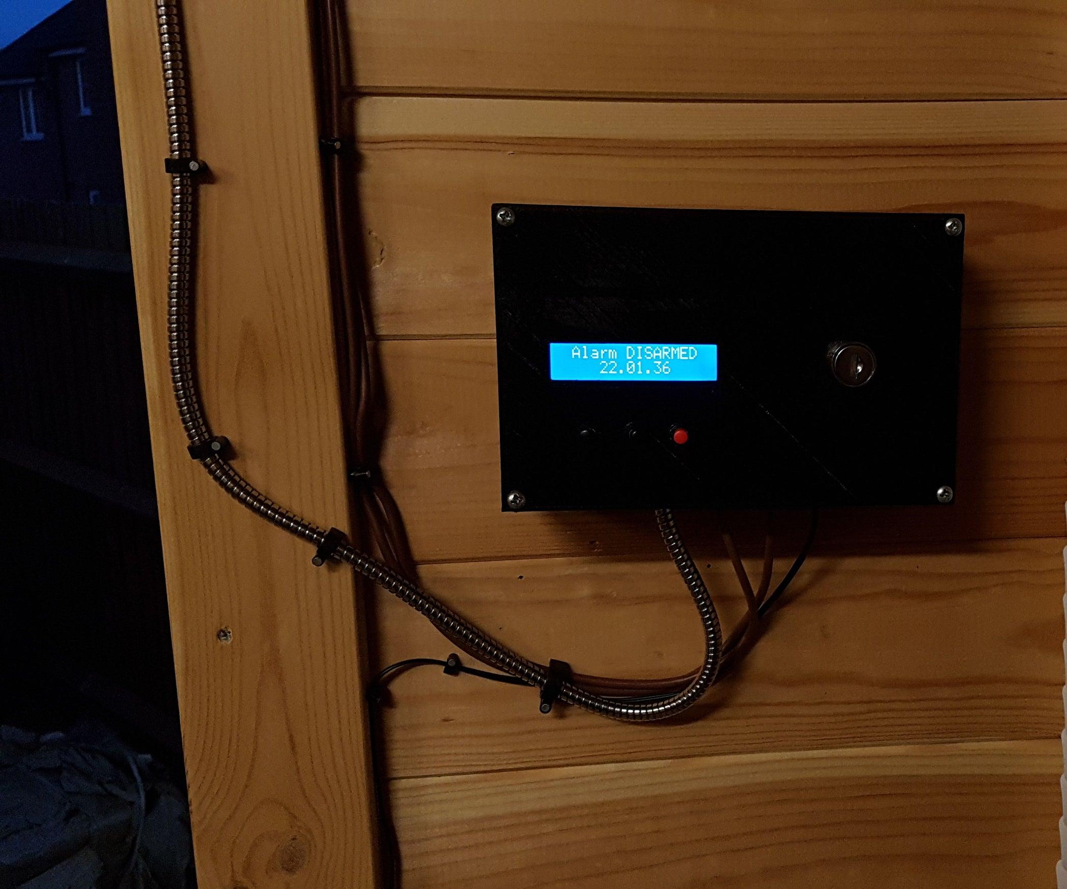 QnA VBage Shed / Log Cabin Intruder Alarm