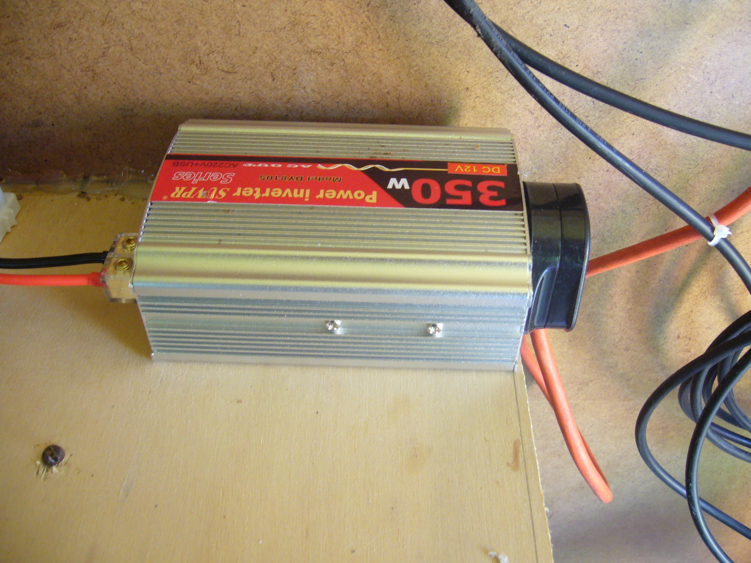 Picture of Battery and Inverter