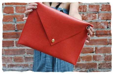 DIY Oversized Envelope Clutch