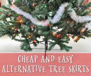 Easy Alternative Tree Skirts