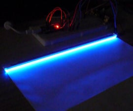 Scanner Rgb Led Lamp Pwm Controlled by Arduino Nano