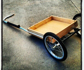 I built this bike trailer