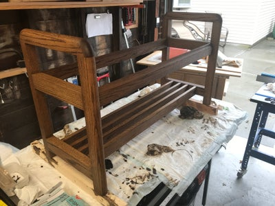 Some Picture of the Staining and Finishing Process