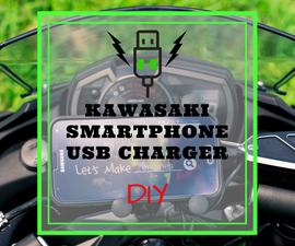 DIY - Kawasaki USB Smartphone Charger Install