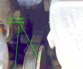 Replacing the Power Steering Pump in my Honda Civic 1999