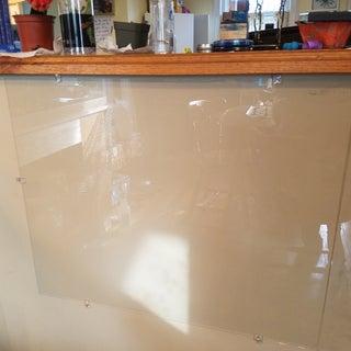 DIY Glass Dry Erase Board