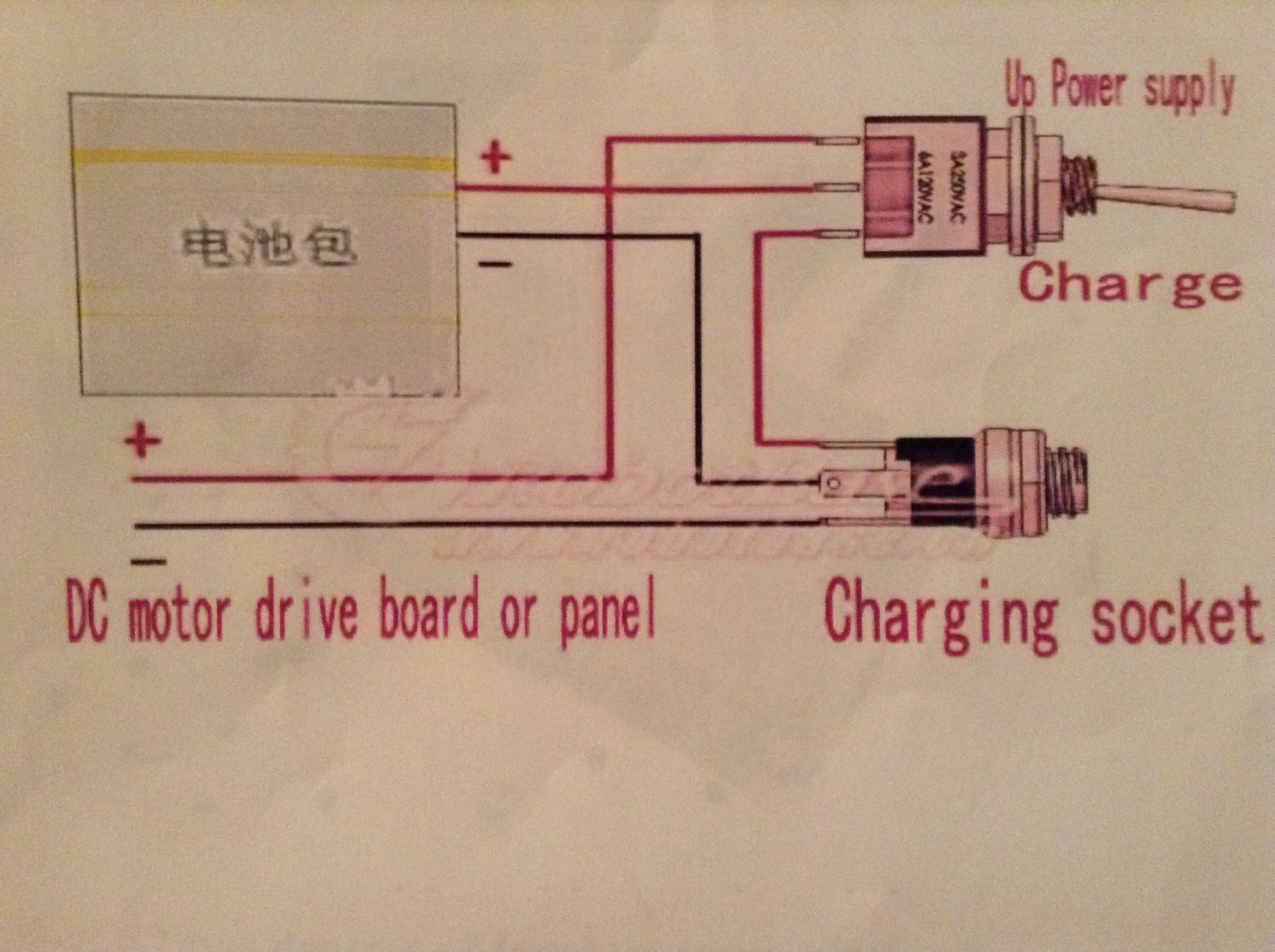 Picture of Wiring the Charge Switch