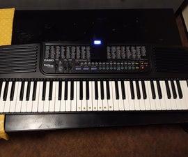 Make CASIO Keyboard Work on Power Bank