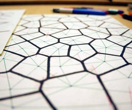 Hand-Drawn Voronoi Diagrams