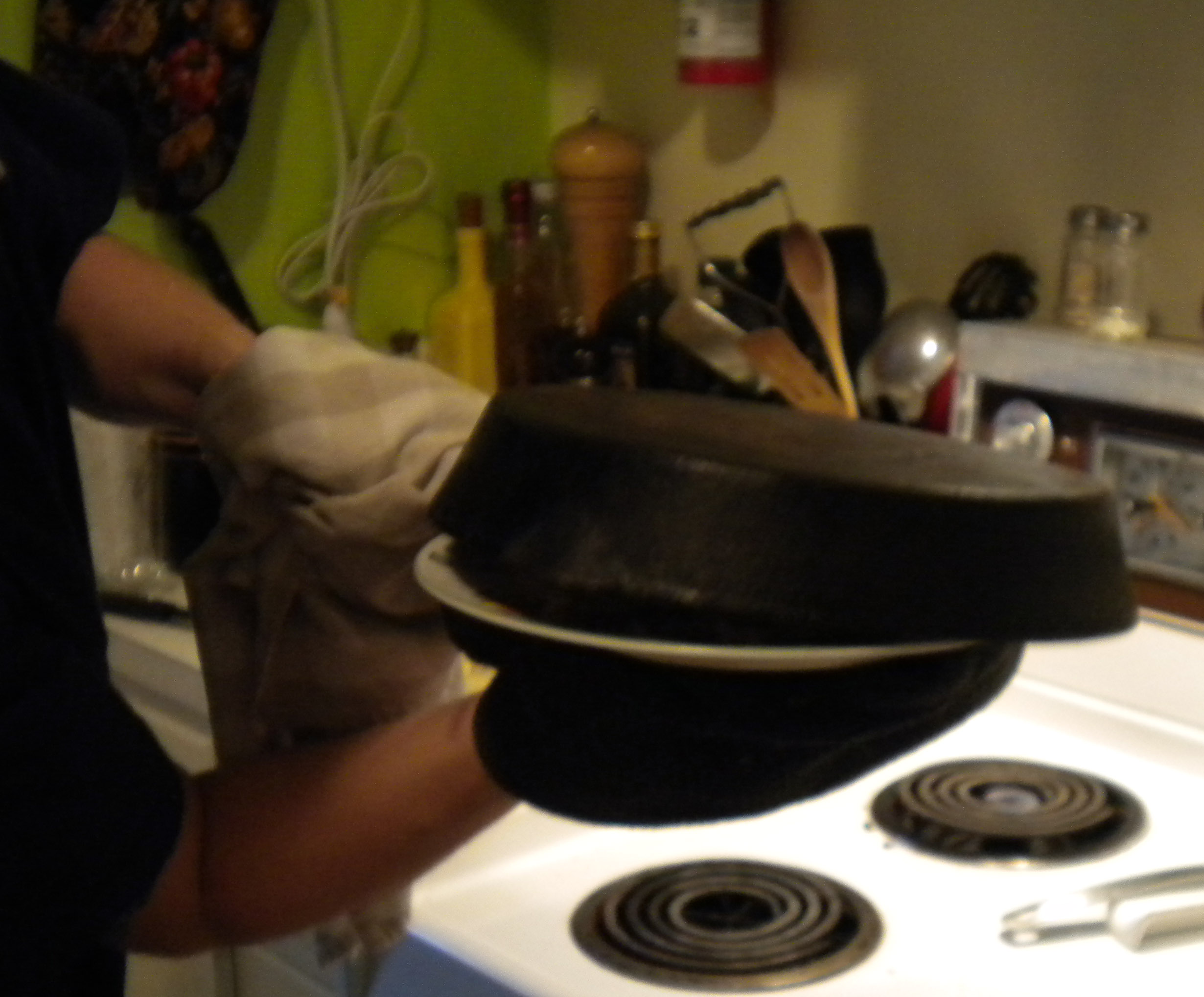 Picture of Flipping the Crust