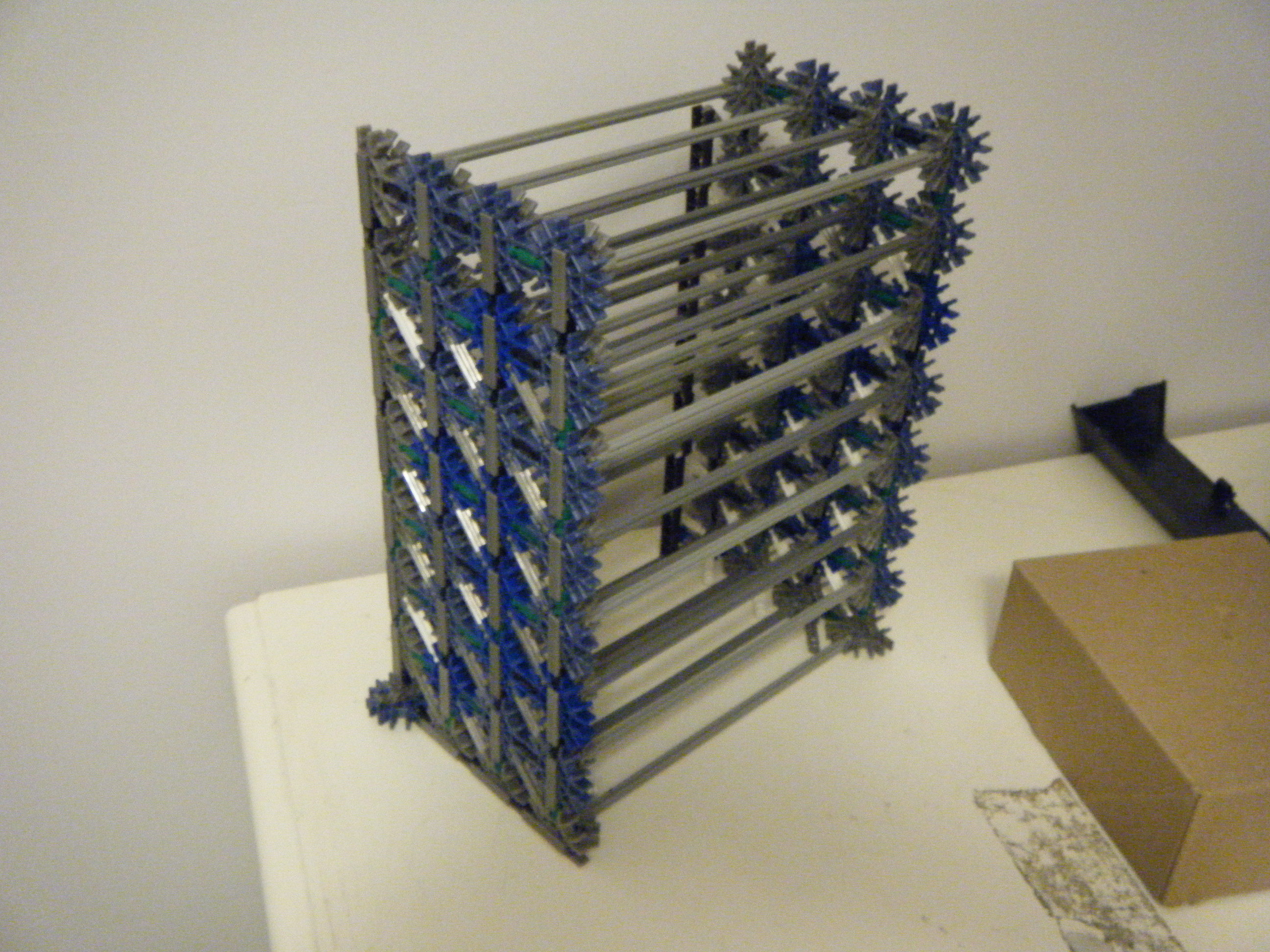 Picture of Knex Simple PS3 Game Shelf