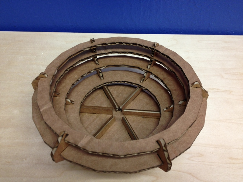 Picture of Assemble Cardboard Bowl