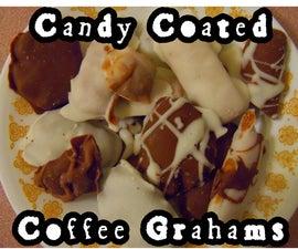 Chocolate-Vanilla-Coffee Graham Crackers!