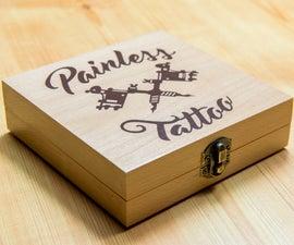 Wooden Tattoo Machine Box