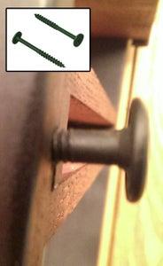 Install Towel Hook / Washer Screws