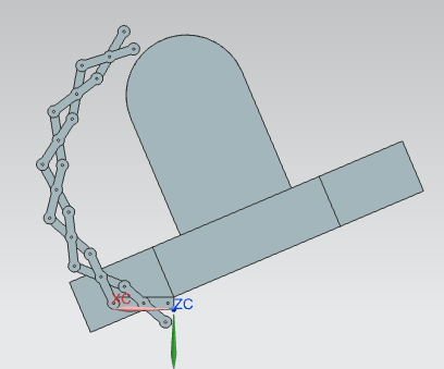 Picture of Dimensioning the Arm (can Be Skipped)