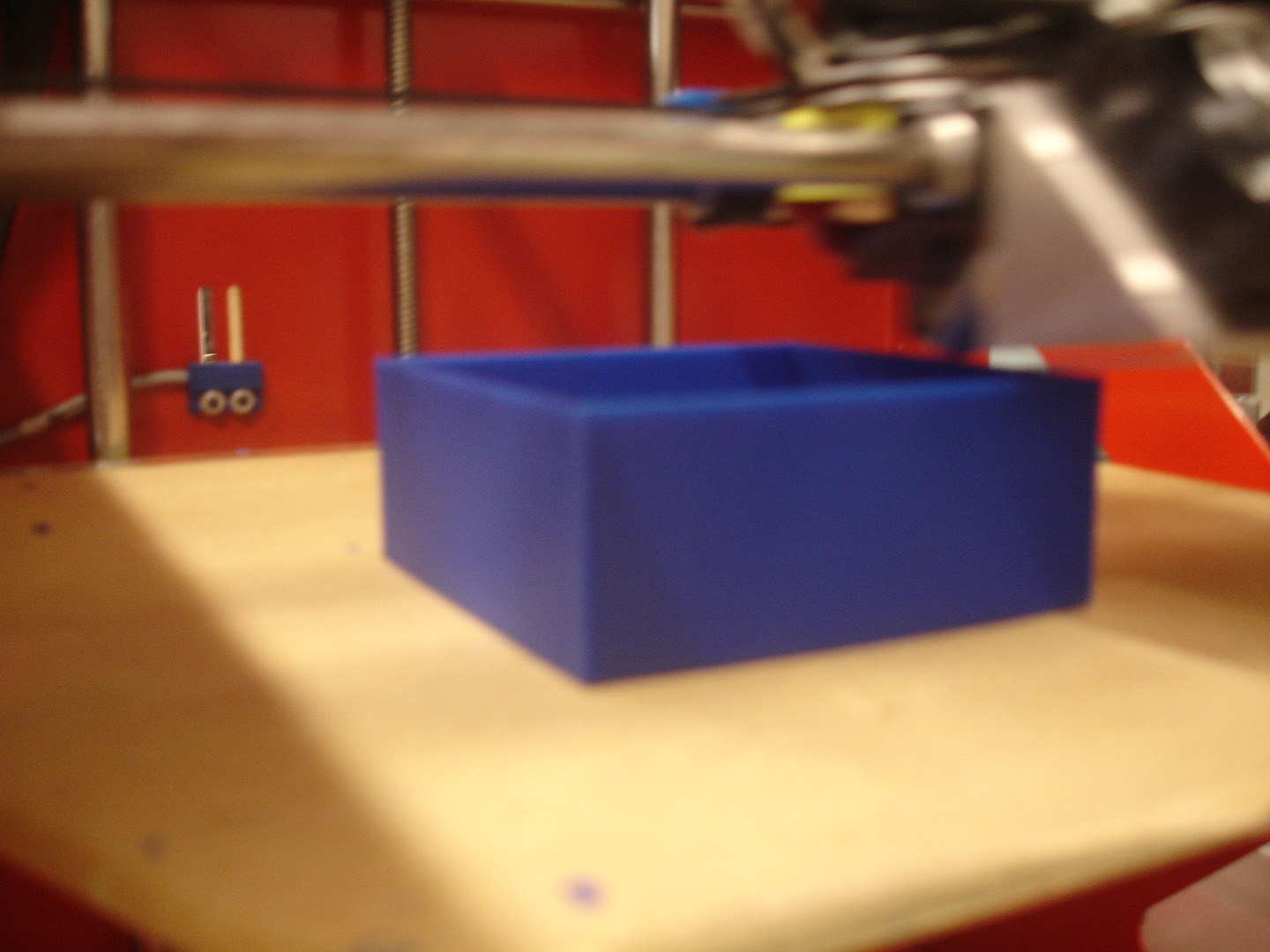 Picture of Bin With 3D Printer