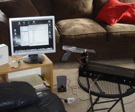 Theremin w/Zapper,laser,Arduino