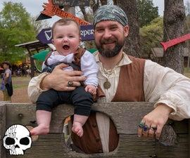 DIY Baby Pirate Costume