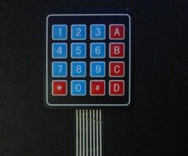 Arduino Keypad 4x4 Tutorial