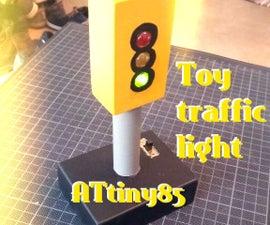 ATtiny85 Toy Traffic Light