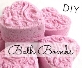 DIY Bath Bomb Fizzies