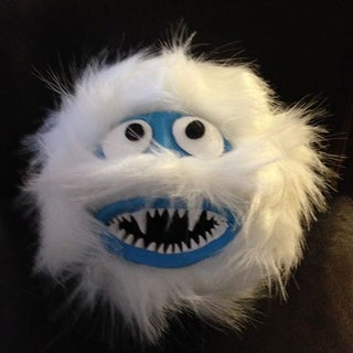 Abominal Snowman Hunting Trophy Christmas Decoration