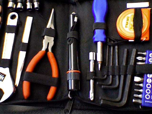 Picture of The Required Pieces and Tools