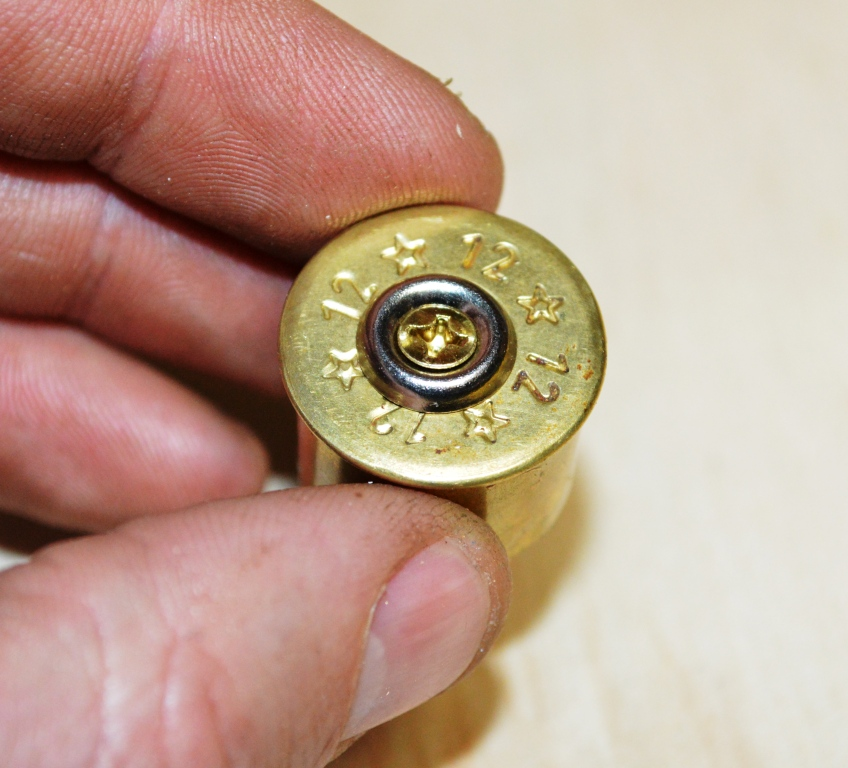 Picture of Adding the Cork to the Shotgun Cap