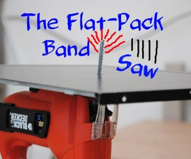 The Flat-Pack Bandsaw | DIY Woodworking Tools #6