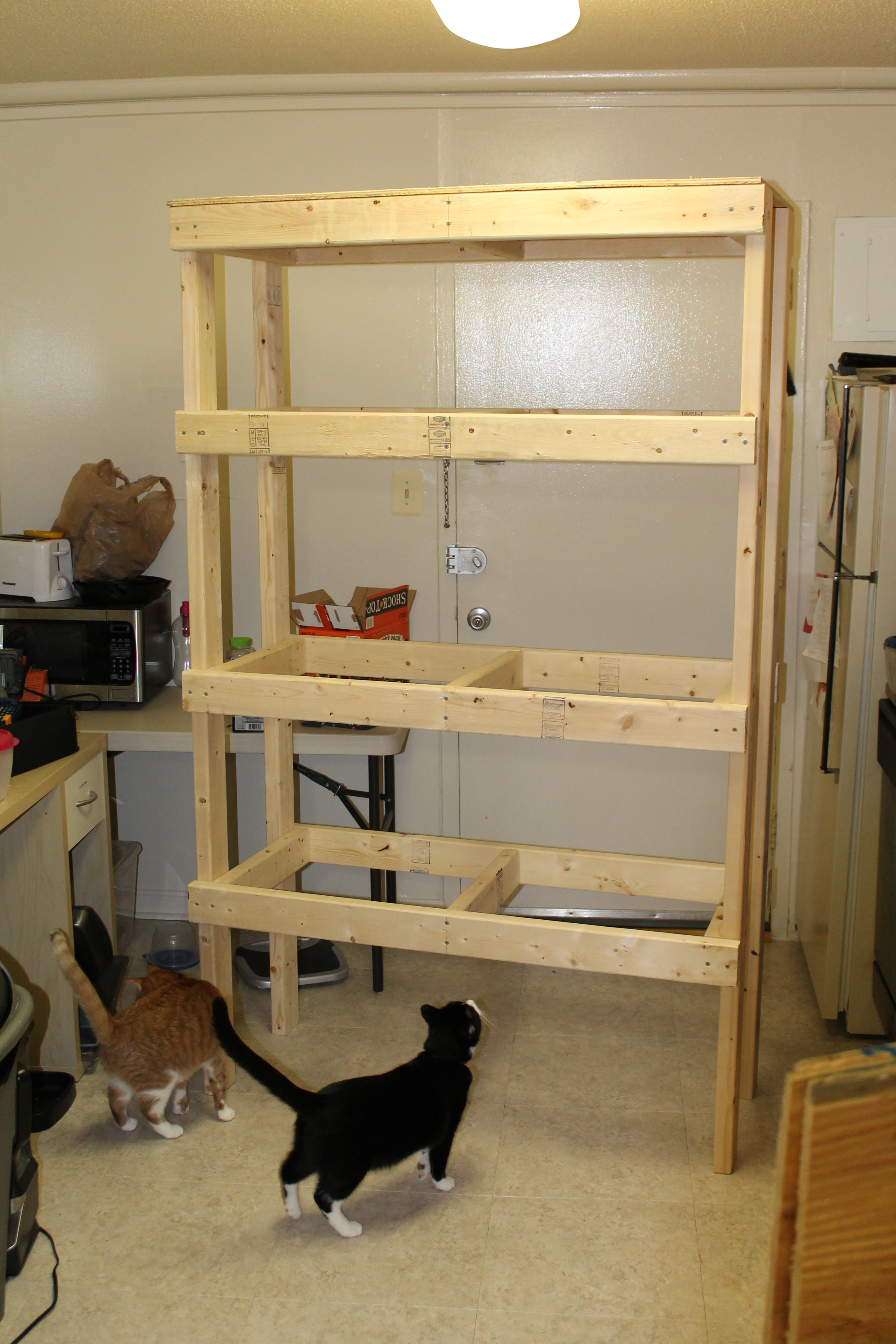 Picture of Attaching Plywood
