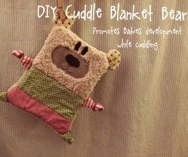 Cuddle Blanket Bear - Promotes Babies development while cuddling