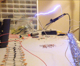 12V-180kV: A Battery Powered Marx Generator (and introduction to electronics)