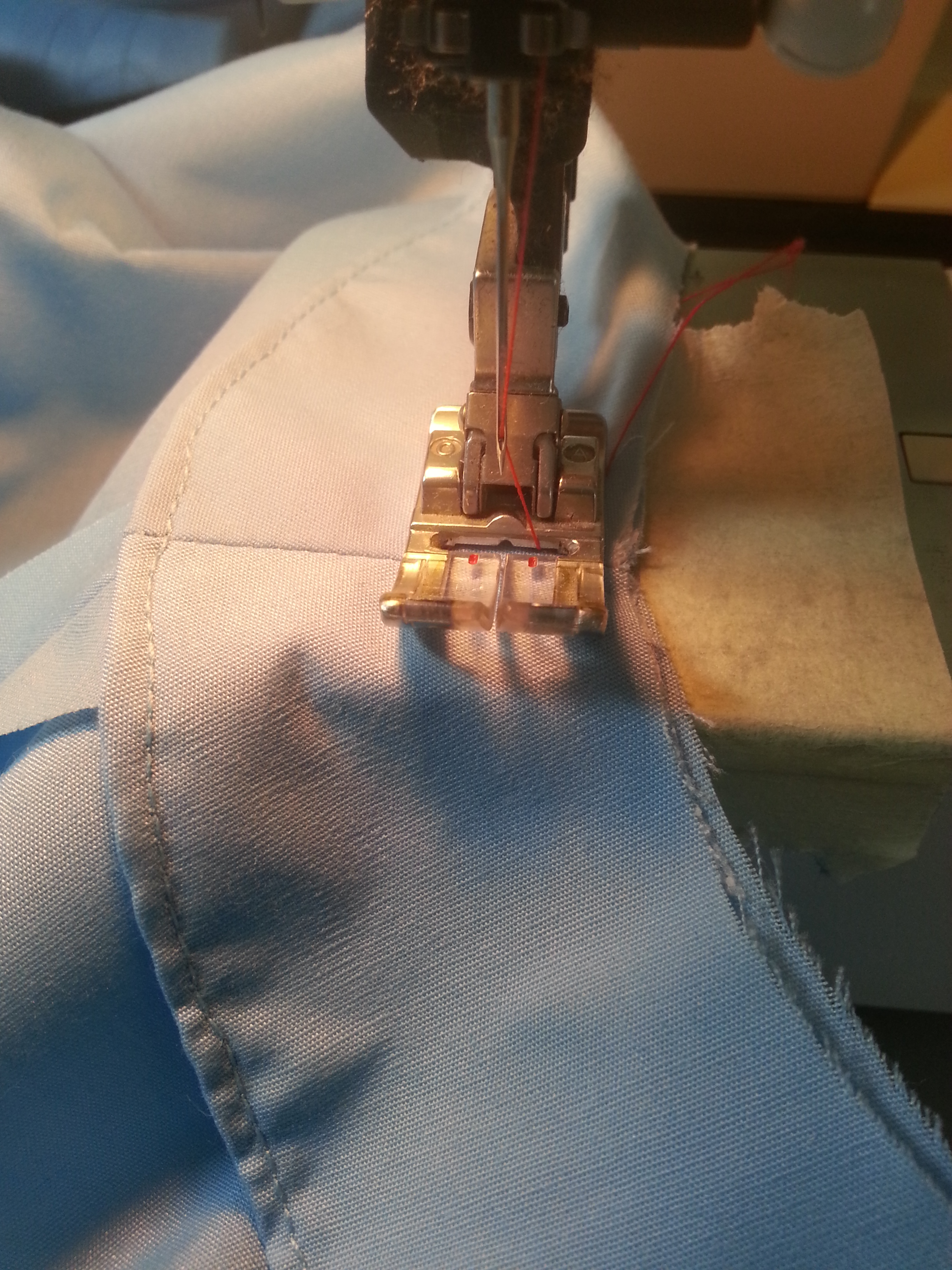 Picture of Attaching the Facing