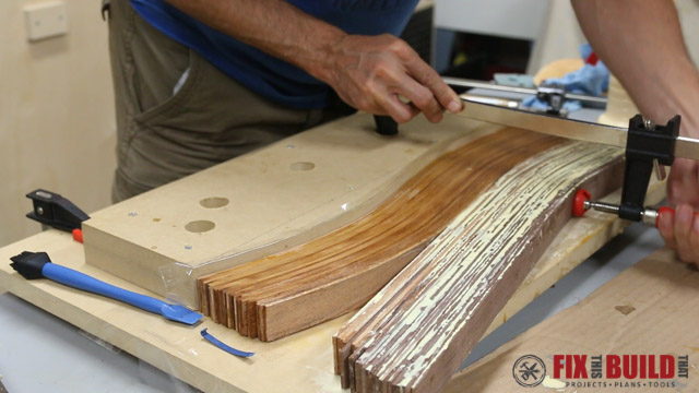 Picture of Glue Up the Lamination