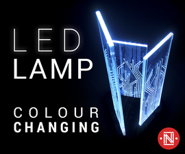 Beautiful LED Decoration Lamp (RGB Color Changing)