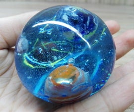 How to Make This Universe With Resin || Resin Art