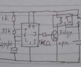 Most Power Saving Light Delay Circuit