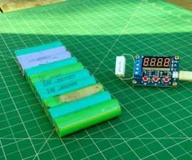 Lithium Battery Capacity Tester