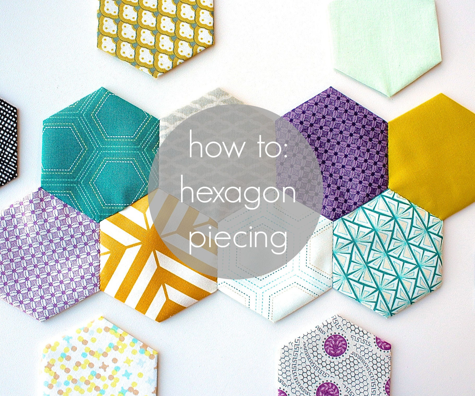 Hexagon Piecing Tutorial 7 Steps With Pictures
