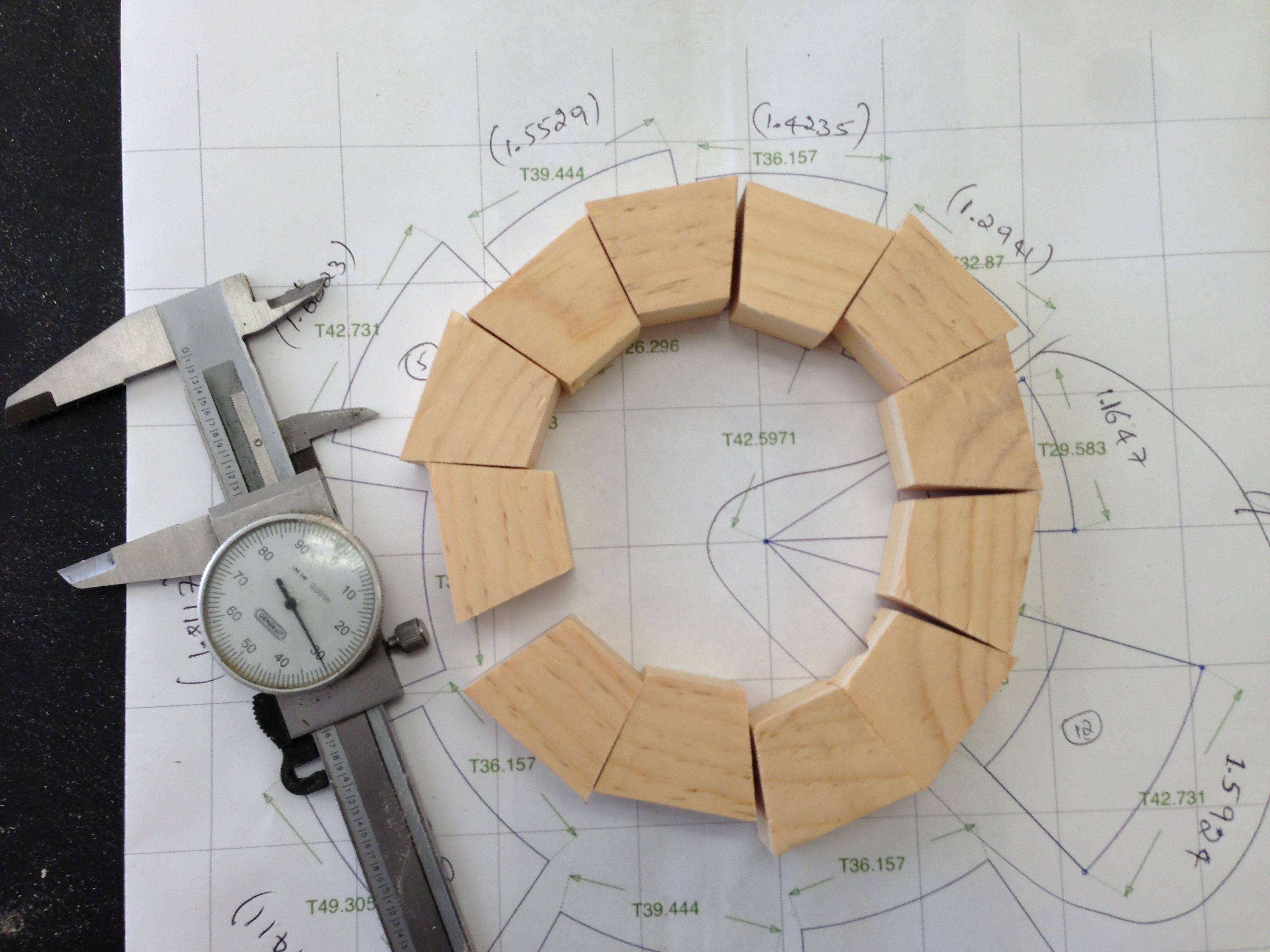 Picture of Making of a Jig to Cut Segments