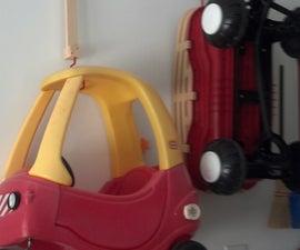 Adjustable Hanging Garage Storage System