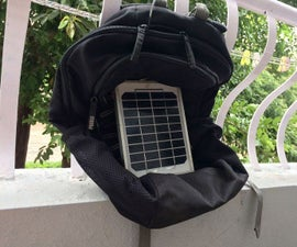 Solar Back-Pack Charging on the Go