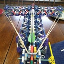 Knex Crossbow, with real arrows!