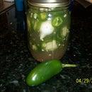 Easy Pickled Jalapenos