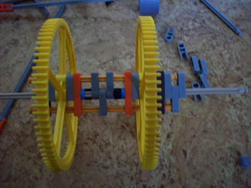 "Picture of ""Big K'nex Walker"": Axle"