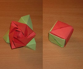 How-to fold an Origami Magic Rose Cube