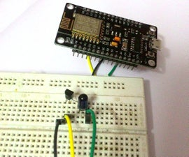 Universal Remote Using ESP8266(Wifi Controlled)